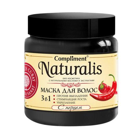 Naturalis Маска для волос 3 в 1 с перцем 500мл