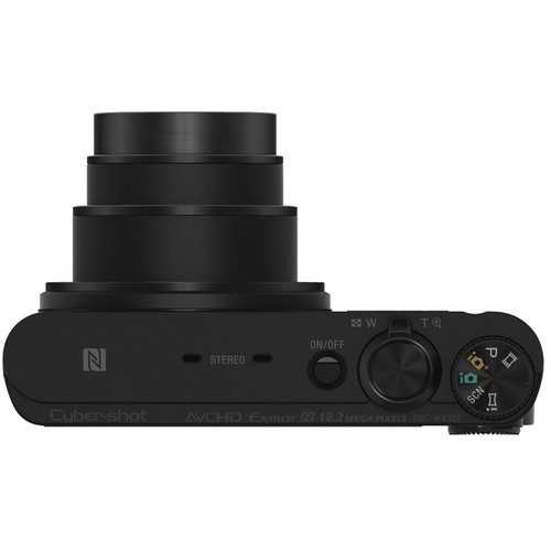 Фотоаппарат Sony DSC-WX350B с 20-кратным оптическим приближением