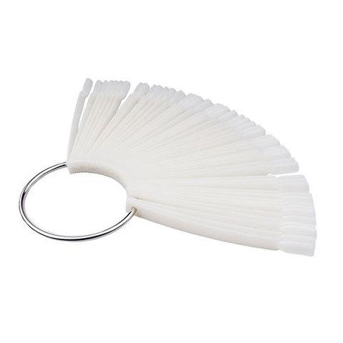 Палитра веер на кольце 30 ногтей матовый