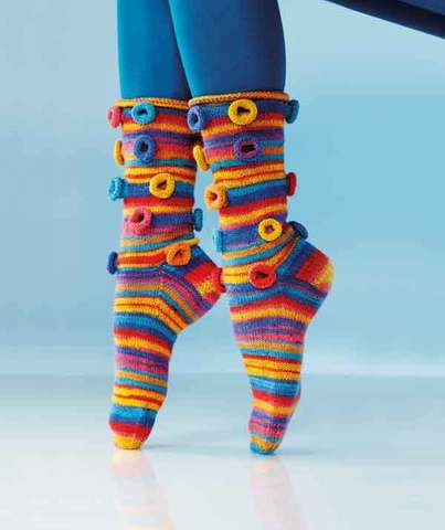 Regia Crazy Socks Journal