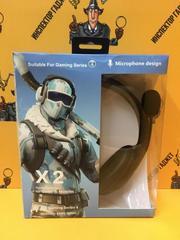 Игровые наушники с микрофоном PUBG X2