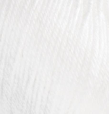 Пряжа Baby wool ( Alize) 55 Белый