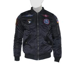 Куртка утеплённая 'MA-1 With Patches' Black