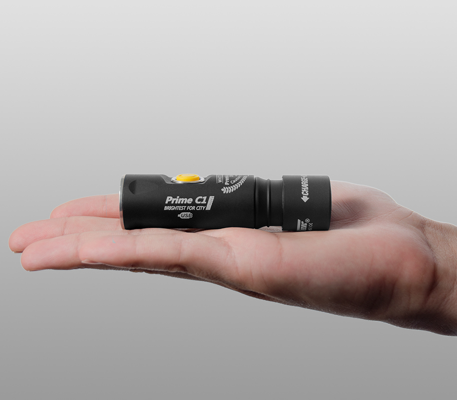 Фонарь на каждый день Armytek Prime C1 Pro Magnet USB (тёплый свет) - фото 2