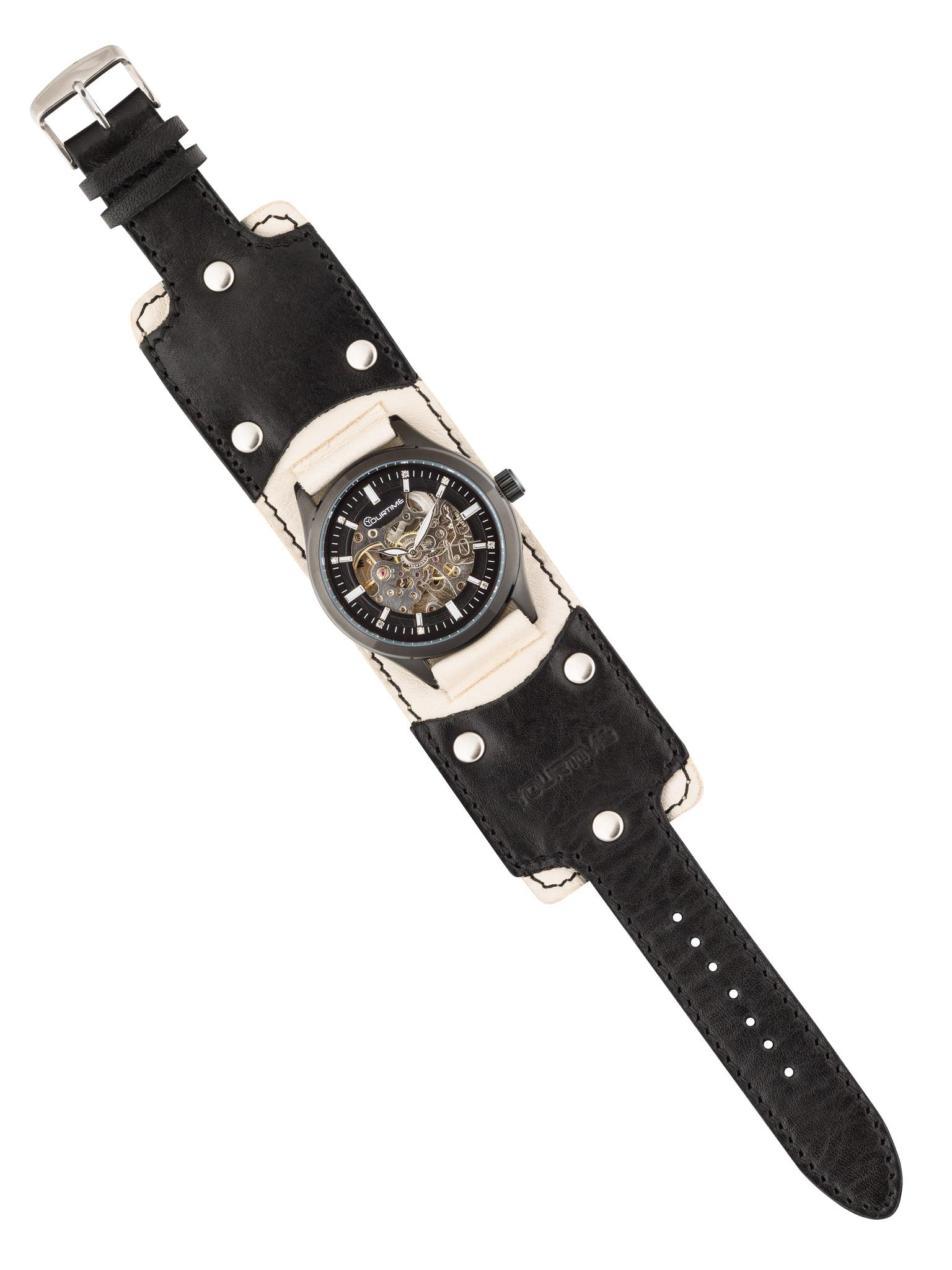 Часы скелетоны мужские механические Strength YOURTIME