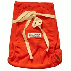 Трикотажный подгузник Babyidea Hemp Hour Strap Soft, до 3-х лет, Оранжевый (конопля/органический хлопок ) 2шт/уп