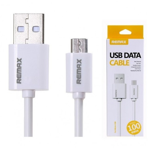 Кабель microUSB Remax Fast Cable RC-007m (круглый)