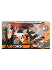 Мотоцикл с мотоциклистом на р/у 25см