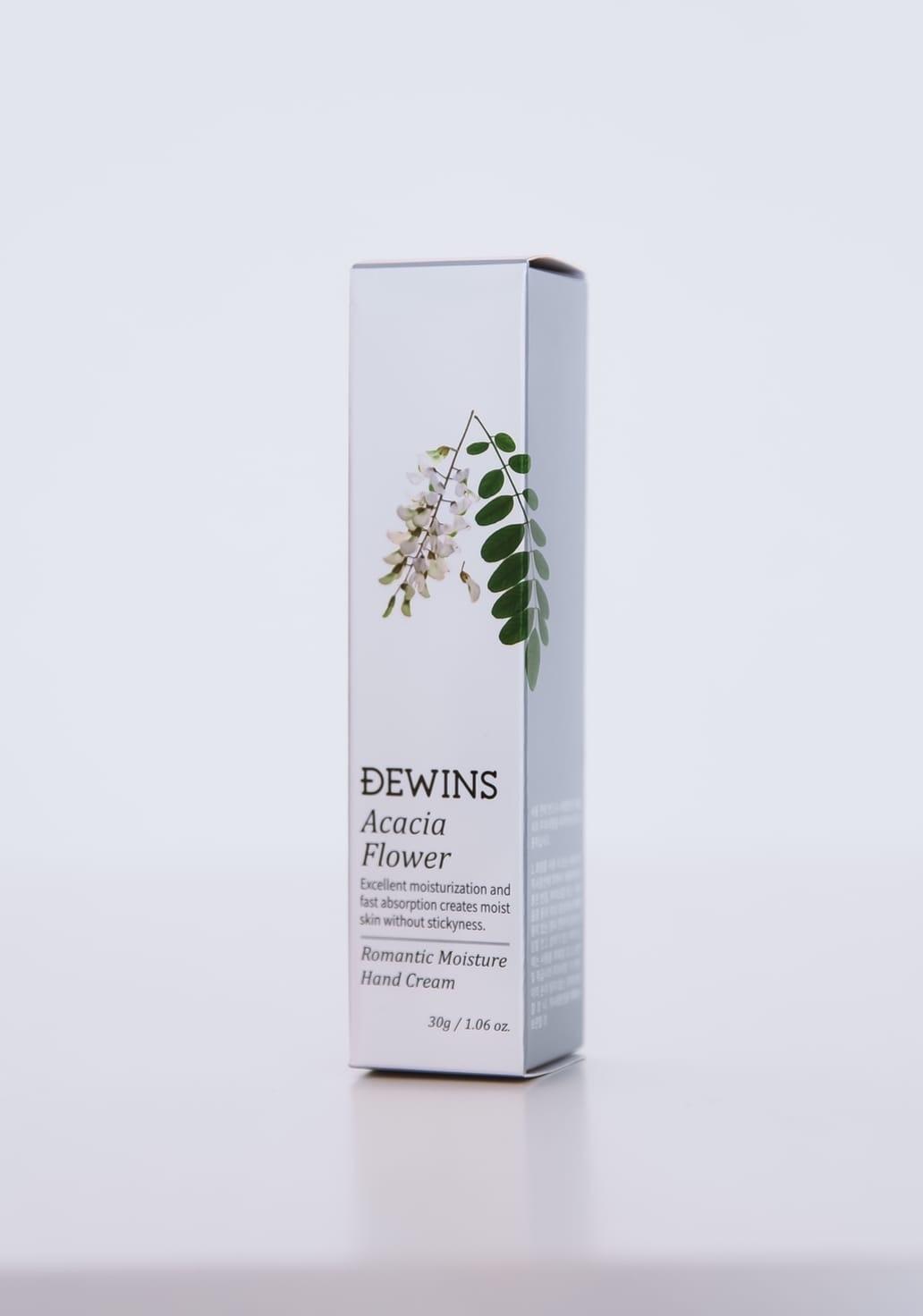 Крем для рук с экстрактом акации, DEWINS Acacia Flower Hand Cream