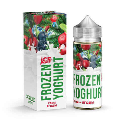 Жидкость Frozen Yoghurt Ice Boost 120 мл Хвоя Ягоды