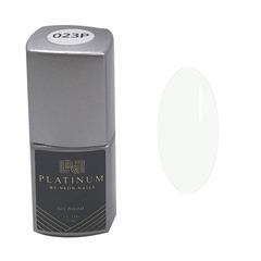 Гель-лак белого цвета PLATINUM