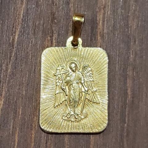 Именная нательная икона святой Александр с позолотой кулон медальон с молитвой