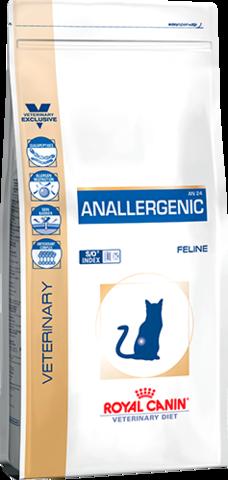 Royal Canin Anallergenic AN 24 для кошек с тяжелой формой пищевой аллергии