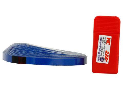 Стикеры для обода колеса - синий