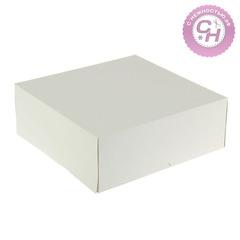 Коробка картонная квадратная, 28,5*28,5*6 см, 1 шт.