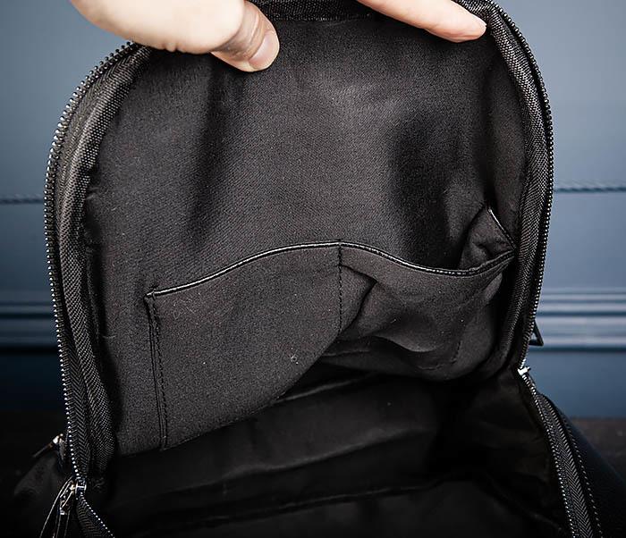 BAG558 Кожаный мужской рюкзак для города фото 10