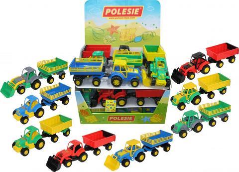 Трактор с прицепом (дисплей №21), 50250
