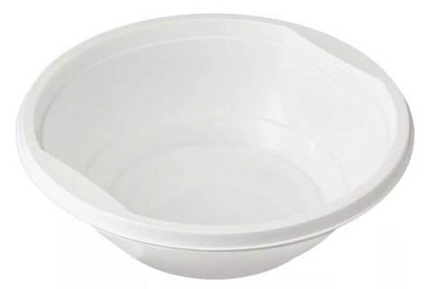 Тарелка cуповая белая (10г) ПП