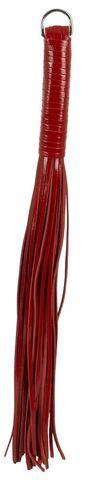 Красный многохвостый флоггер - 54 см.