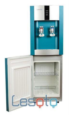 Кулер для воды LESOTO 16 L-C/E blue-silver