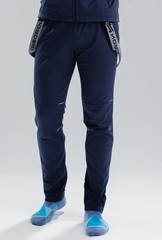 Лыжные разминочные брюки NordSki Premium Blueberry 2020