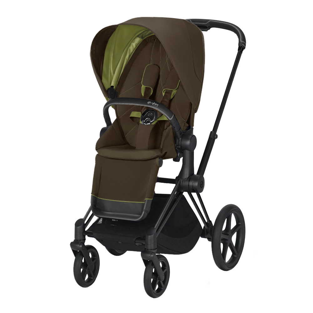 Прогулочная коляска Cybex Priam III 2020 Прогулочная коляска Cybex Priam III Khaki Green Matt Black cybex-priam-pushchair_khaki-green_matte-black.jpg