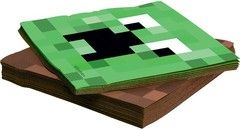 Салфетки, Пиксели, 33*33 см, 20 шт.