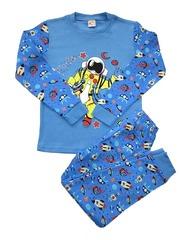 42D-4 пижама детская, синяя