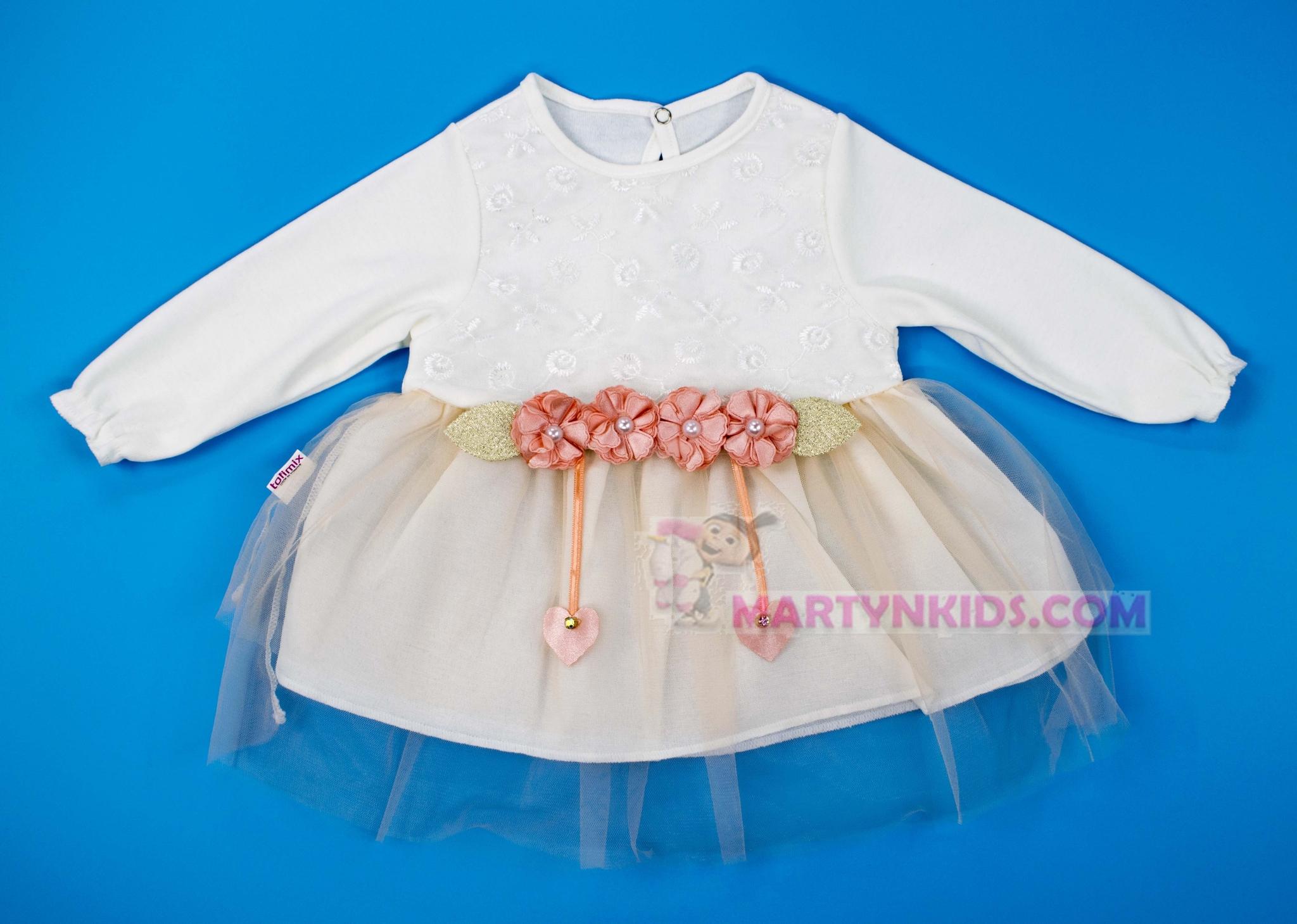 3041 платье Четыре цветка гепюр