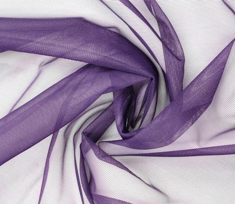 Корсетная сетка, СРЕДНЕЙ ЖЕСТКОСТИ, темно-фиолетовая,  (Арт: KS-885.S)