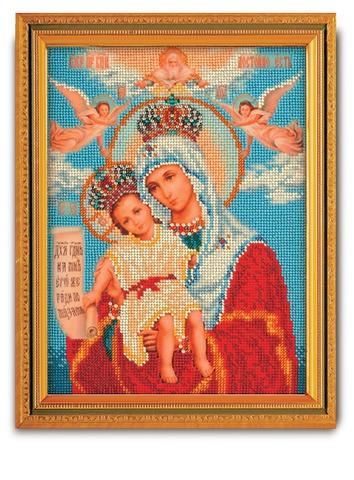 производитель РАДУГА БИСЕРА¶артикул В-168¶размер 20х26¶техника вышивание бисером¶тематика религиозна
