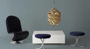 Подвесной светильник копия Spiral SP02 by Verpan Panton (золотой)