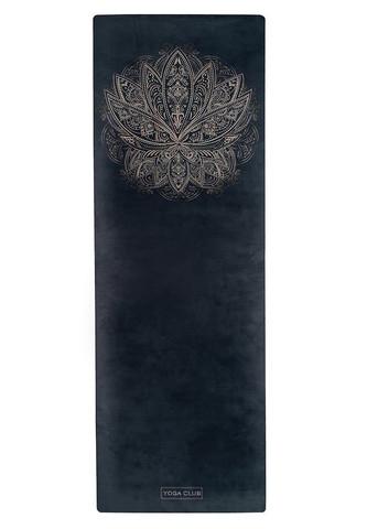 Коврик для йоги Lotos 183*61*0,1-0,3 см из микрофибры и каучука