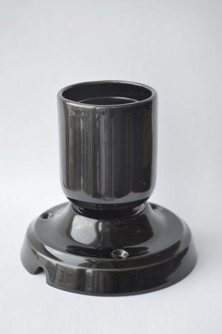 Спот керамический чёрный S1 Black