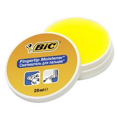 Подушка для смачивания пальцев гелевая Bic 20 мл