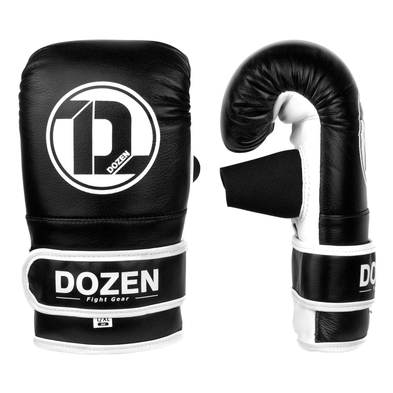 Снарядные перчатки Dozen Soft Pro Black вид сбоку