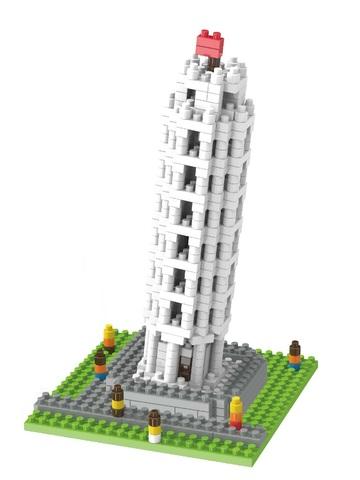 Конструктор Wisehawk & LNO Пизанская башня 511 деталей NO. 3435 The Leaning Tower of Pisa Gift Series