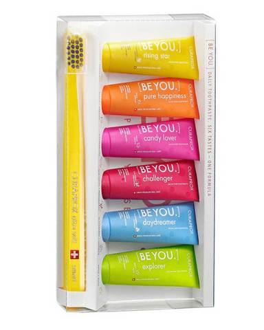 CURAPROX BE YOU Набор зубных паст, 6х10 мл+Детская зубная щетка Smart