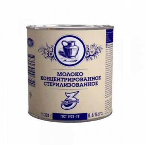 Молоко конц 3 ЖЕЛАНИЯ ГОСТ 8,6% 300 гр ж/б