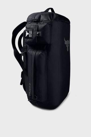 Мужской черный рюкзак UA Project Rock Duffle Under Armour