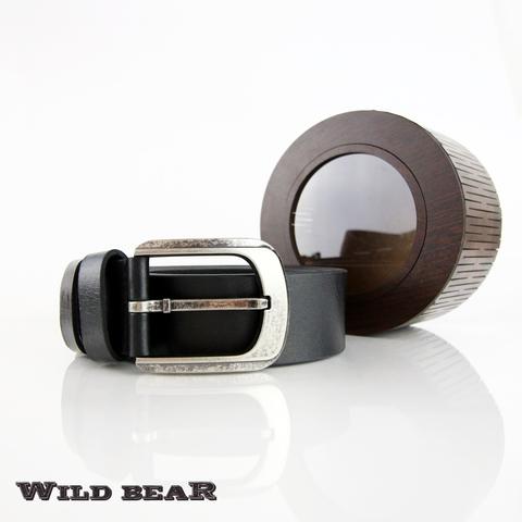 Ремень WILD BEAR RM-011f Black Premium