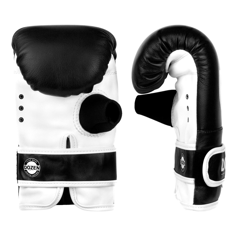Снарядные перчатки Dozen Soft Pro Black ладонь