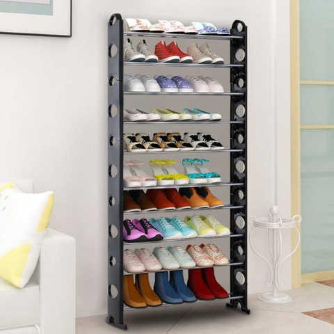 Стойка для обуви 10 уровневая
