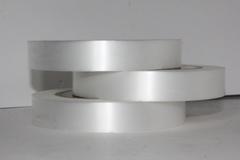 Лента простая гладкая без тиснения (2см*50м) Белая