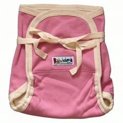Трикотажный подгузник Babyidea Hemp Hour Strap Soft, до 3-х лет, Розовый (конопля/органический хлопок ) 2шт/уп
