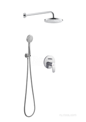 MONODIN-N Комплект однорычажного смесителя скрытого монтажа с верхним и ручным душем Roca 5D0518C00 фото