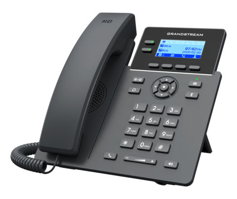Grandstream GRP2602 (без PoE) - IP телефон. 4 SIP аккаунта, 2 линии, есть подсветка экрана