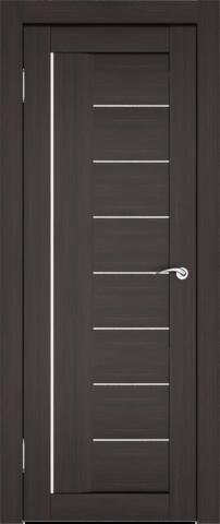 Дверь София (7С1М) (S-8) (венге, остекленная экошпон), фабрика Zadoor