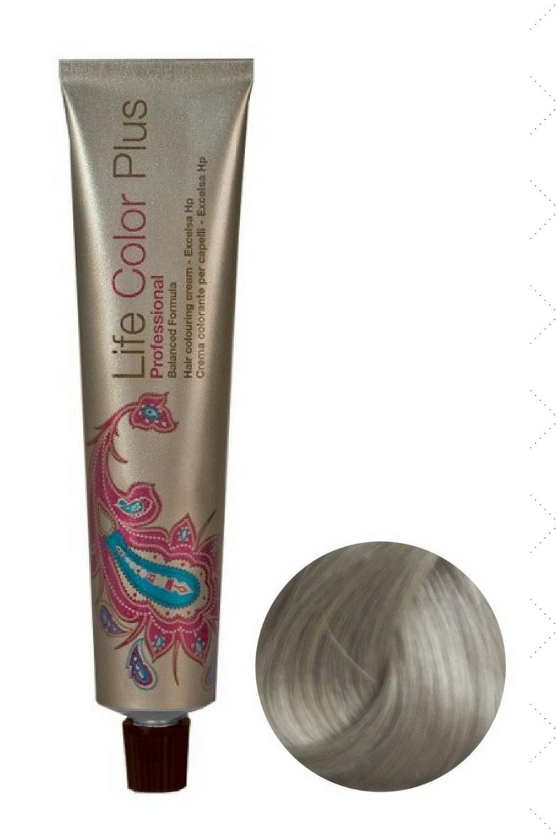 Крем-краска 9.22 Очень светлый блондин розовый ирис Life Color Plus FarmaVita, 100 мл
