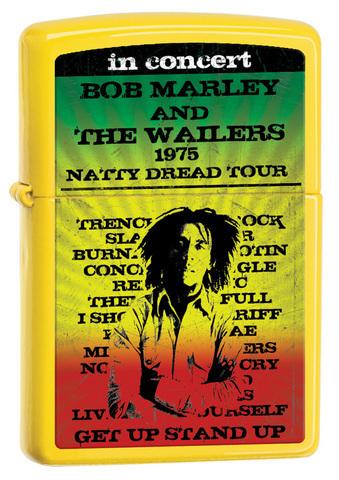 Зажигалка Zippo Bob Marley
